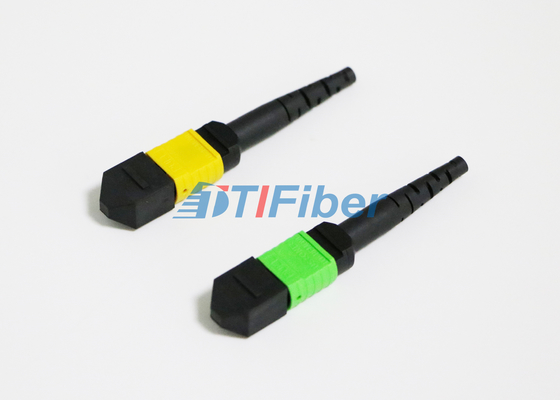 12 Core MPO / MTP Fiber Optic Connector for Fiber Patch Panel